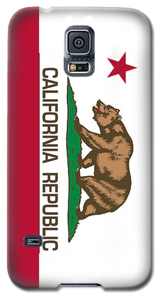 California Republic State Flag Authentic Version Galaxy S5 Case by Bruce Stanfield