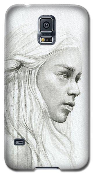 Dragon Galaxy S5 Case - Daenerys Mother Of Dragons by Olga Shvartsur
