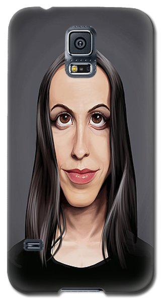 Celebrity Sunday - Alanis Morissette Galaxy S5 Case