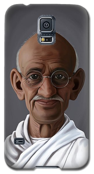Celebrity Sunday - Mahatma Gandhi Galaxy S5 Case