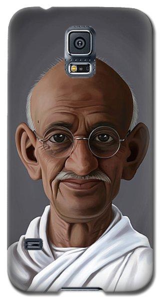 Celebrity Sunday - Mahatma Gandhi Galaxy S5 Case