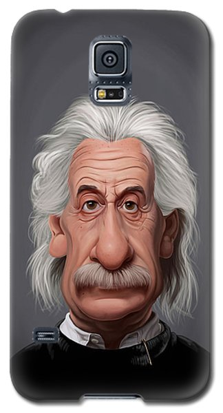 Celebrity Sunday - Albert Einstein Galaxy S5 Case