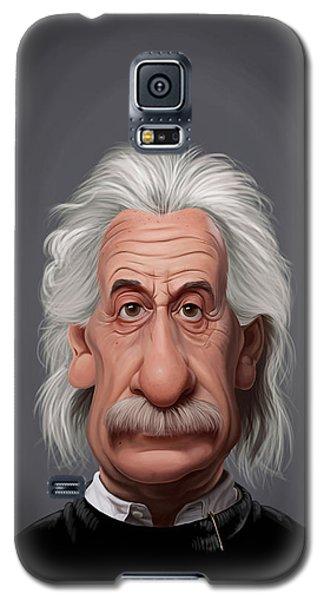 Celebrity Sunday - Albert Einstein Galaxy S5 Case