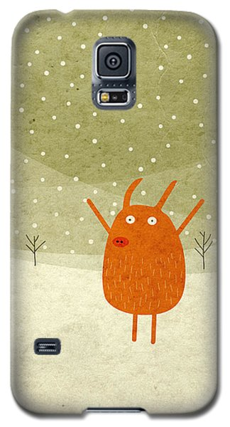 Pigs And Bunnies Galaxy S5 Case by Fuzzorama