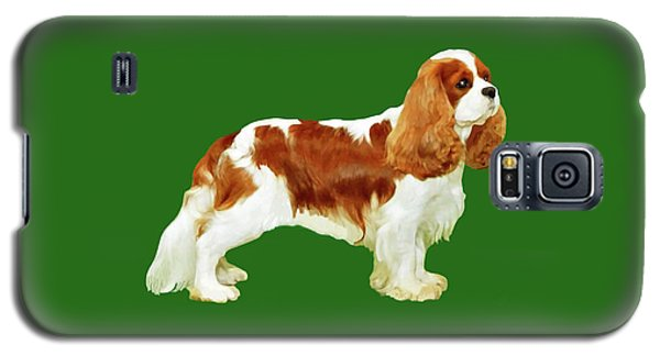 Cavalier King Charles Spaniel Galaxy S5 Case by Marian Cates