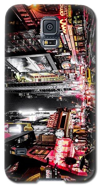 New York City Night II Galaxy S5 Case by Nicklas Gustafsson