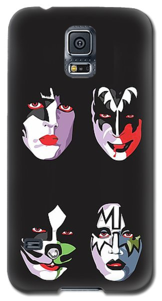 Music Galaxy S5 Case - Kiss by Troy Arthur Graphics