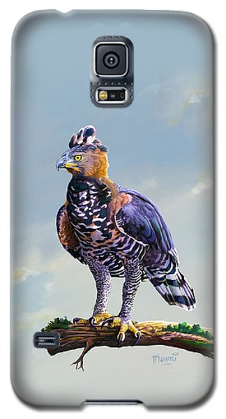 African Crowned Eagle  Galaxy S5 Case by Anthony Mwangi