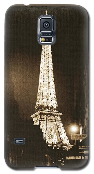Eiffel Tower Galaxy S5 Case - Postcard From Paris- Art By Linda Woods by Linda Woods