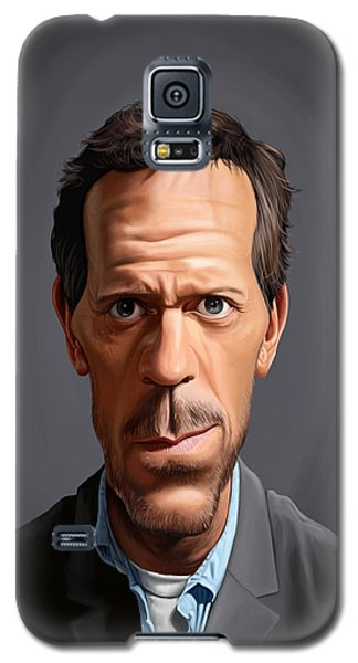 Celebrity Sunday - Hugh Laurie Galaxy S5 Case