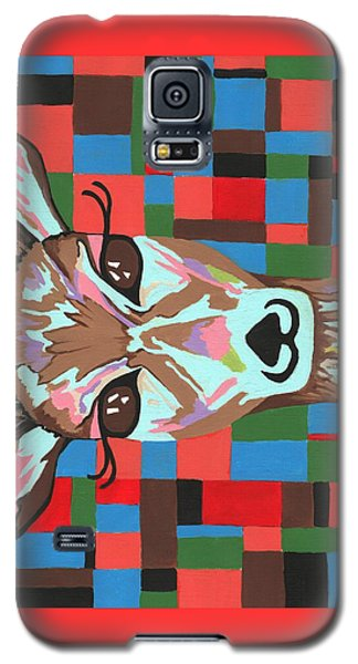 Galaxy S5 Case featuring the painting Darling Deer by Kathleen Sartoris