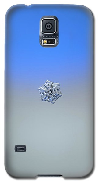 Snowflake Photo - Winter Fortress Galaxy S5 Case by Alexey Kljatov