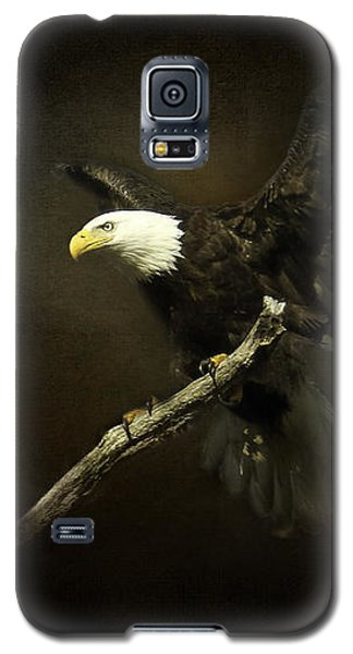 Galaxy S5 Case featuring the photograph Under His Wings by Eleanor Abramson
