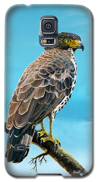 Congo Serpent Eagle Galaxy S5 Case by Anthony Mwangi