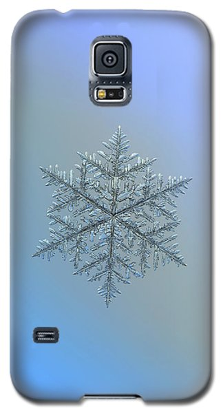 Snowflake Photo - Majestic Crystal Galaxy S5 Case