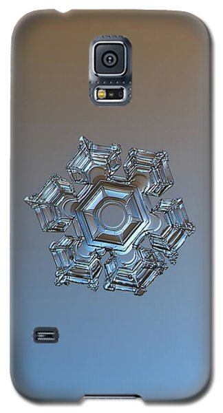 Snowflake Photo - Cold Metal Galaxy S5 Case