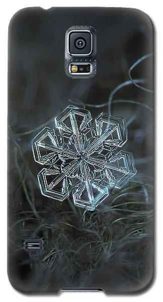 Snowflake Photo - Alcor Galaxy S5 Case