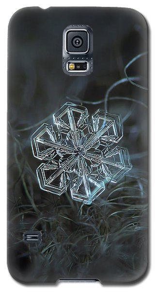 Snowflake Photo - Alcor Galaxy S5 Case