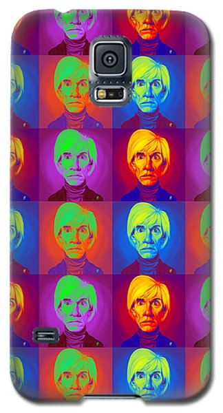 Andy Warhol On Andy Warhol Galaxy S5 Case