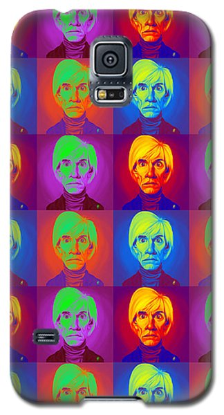 Andy Warhol On Andy Warhol Galaxy S5 Case