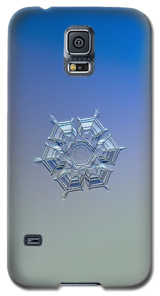 Snowflake Photo - Ice Relief Galaxy S5 Case