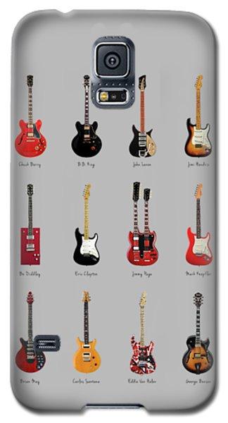 Guitar Icons No1 Galaxy S5 Case by Mark Rogan