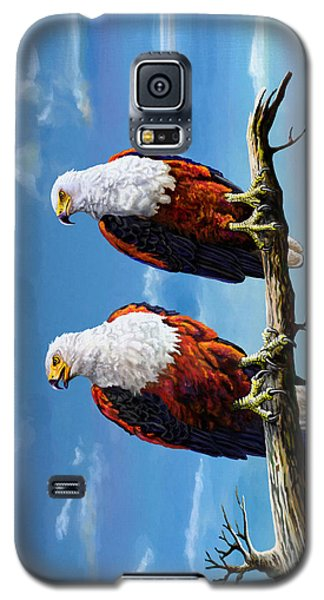 Friends Hanging Out Galaxy S5 Case by Anthony Mwangi