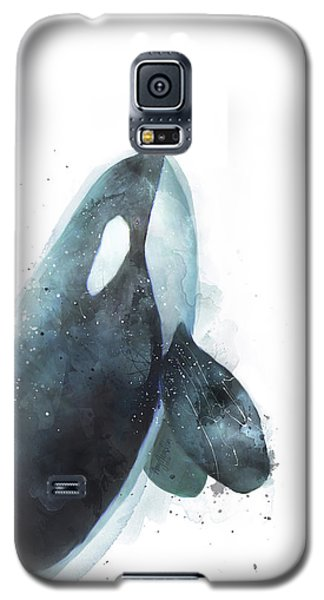 Whale Galaxy S5 Case - Orca by Amy Hamilton