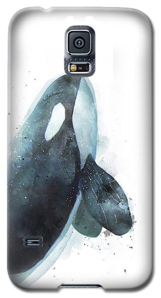 Orca Galaxy S5 Case by Amy Hamilton