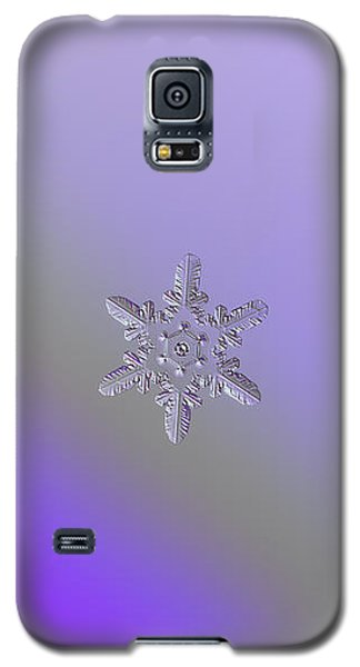 Snowflake Photo - Heart-powered Star Galaxy S5 Case