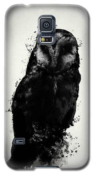 Galaxy S5 Case featuring the mixed media The Owl by Nicklas Gustafsson