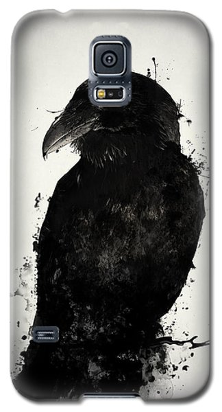 Crow Galaxy S5 Case - The Raven by Nicklas Gustafsson