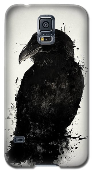 Galaxy S5 Case featuring the photograph The Raven by Nicklas Gustafsson
