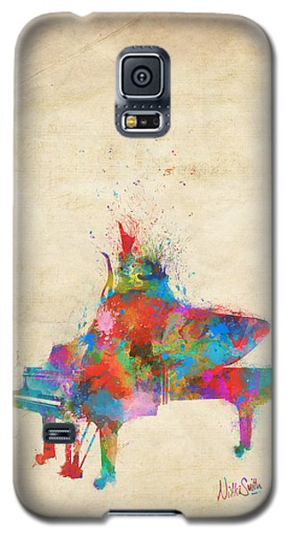 Music Strikes Fire From The Heart Galaxy S5 Case