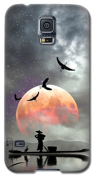 Moon Mist Galaxy S5 Case