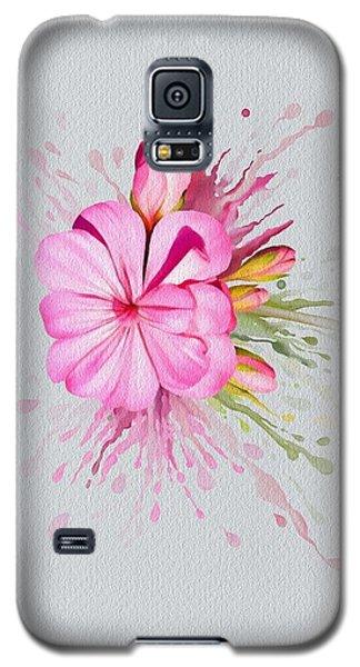 Pink Eruption Galaxy S5 Case