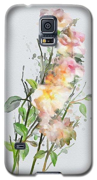 Wild Roses Galaxy S5 Case