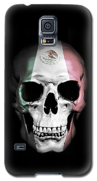 Galaxy S5 Case featuring the digital art Mexican Skull by Nicklas Gustafsson