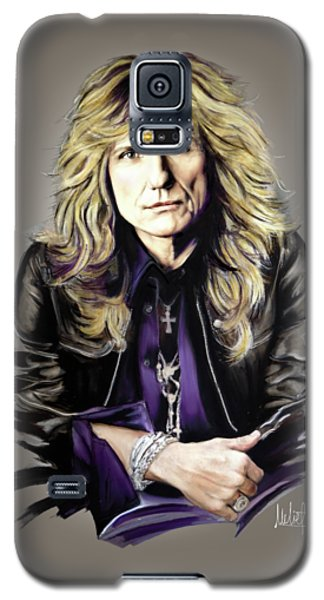 David Coverdale Galaxy S5 Case by Melanie D