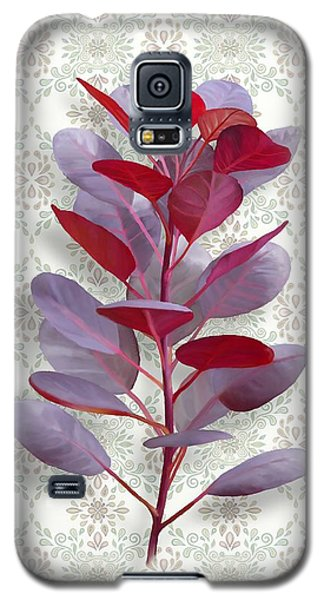 Royal Purple Galaxy S5 Case