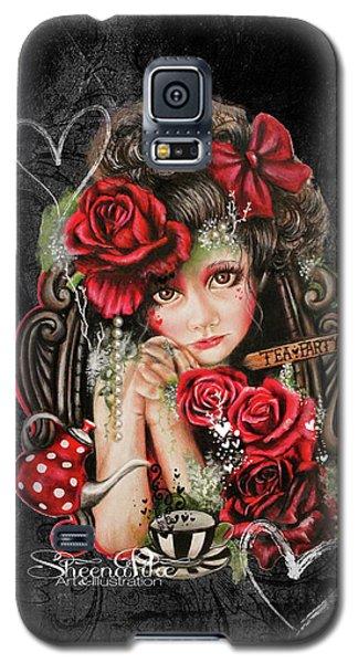 Tea, Pretty Please? Galaxy S5 Case by Sheena Pike