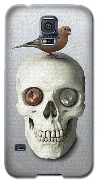 Skull And Bird Galaxy S5 Case