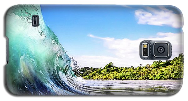Galaxy S5 Case featuring the photograph Tropical Wave by Nicklas Gustafsson