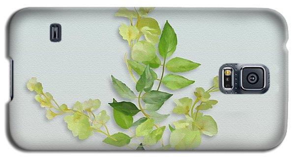 Yellow Tiny Flowers Galaxy S5 Case