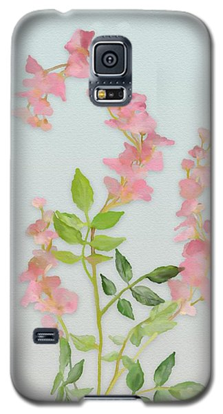 Pink Tiny Flowers Galaxy S5 Case