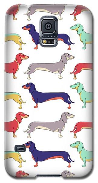 Prairie Dog Galaxy S5 Case - Dachshunds by Kelly Jade King