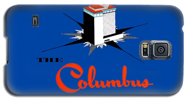 Galaxy S5 Case featuring the painting 1955 Columbus Hotel Of Miami Florida  by Historic Image