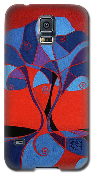 Enveloped In Red Galaxy S5 Case