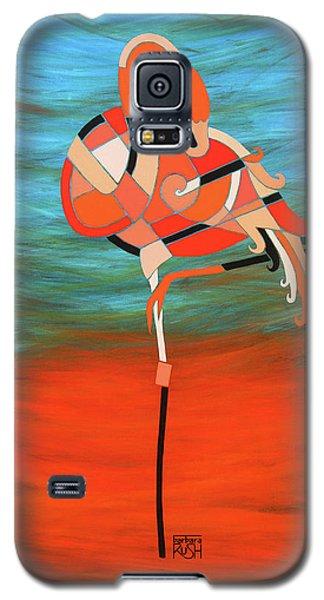 An Elegant Flamingo Galaxy S5 Case