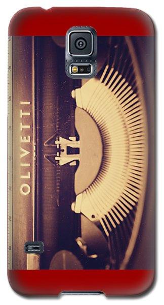Olivetti Typewriter Galaxy S5 Case